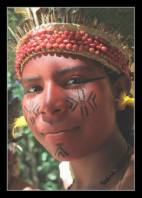 "фото ""Indian Pataxo"" метки: портрет, путешествия, Южная Америка, женщина"