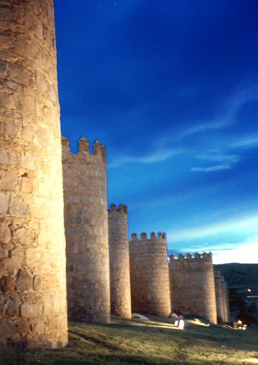 "фото ""castel - Avila Spain"" метки: путешествия, Европа"