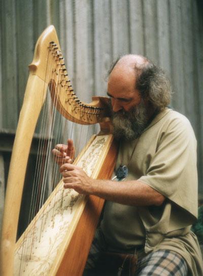 """фото """"Harp-man"""" метки: портрет, мужчина"""