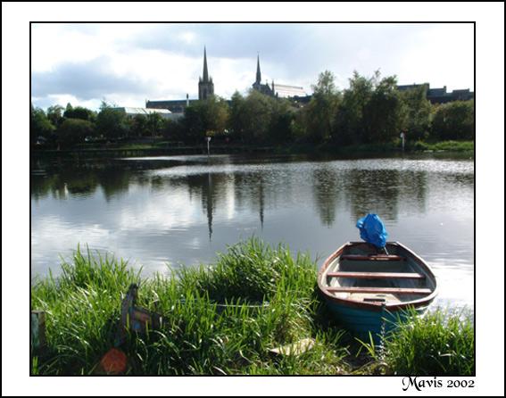 "фото ""A boat for Jose"" метки: пейзаж, вода, осень"
