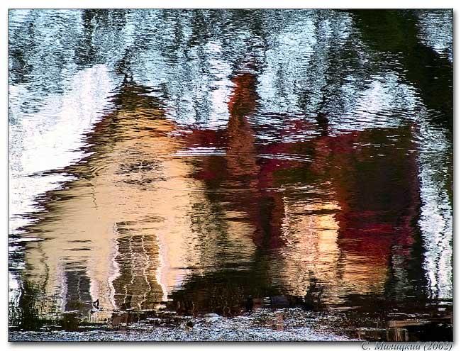 """фото """"Домик..."""" метки: пейзаж, вода"""