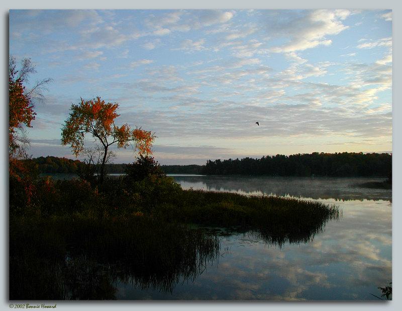 """фото """"September Morning"""" метки: пейзаж, закат, осень"""