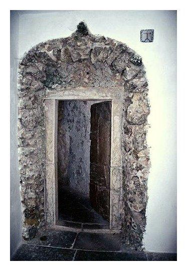 """фото """"Door interior of the Arrabida Convent."""" метки: разное, архитектура, пейзаж,"""