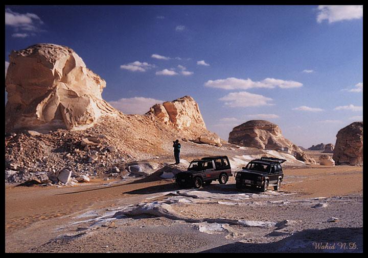 "фото ""White Desert #11"" метки: пейзаж, путешествия, Африка"