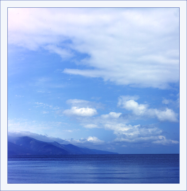 "фото ""Байкал - море синее"" метки: пейзаж, вода, облака"