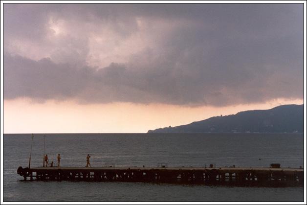 "фото ""Никита за 2 минуты до грозы"" метки: пейзаж, вода, облака"