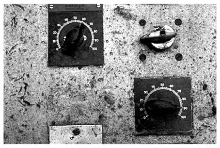 "фото ""Two buttons the push"" метки: абстракция,"