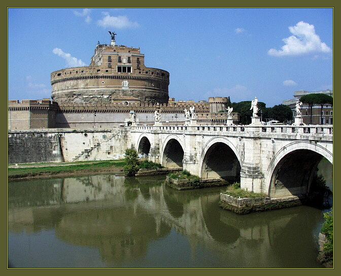 "фото ""Castello Sant` Angelo"" метки: путешествия, архитектура, пейзаж, Европа"