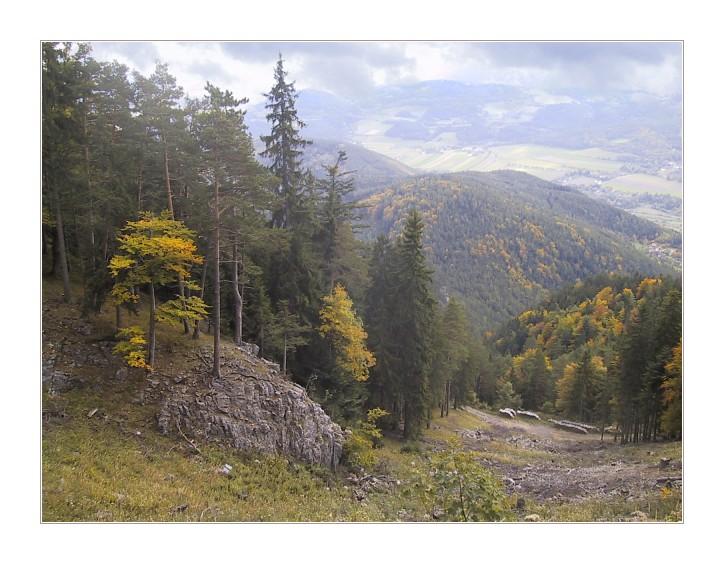 """фото """"Cloudy day"""" метки: пейзаж, горы, осень"""