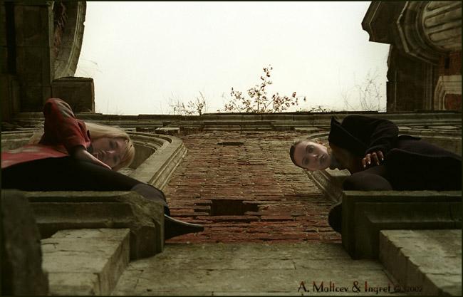 """фото """"""""Слетелись"""" из серии """"Ведьмы техногенного века"""""""" метки: портрет, жанр, женщина"""
