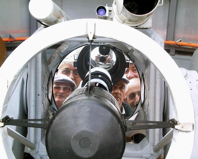 """фото """"Люди и телескоп"""" метки: портрет, фотомонтаж,"""