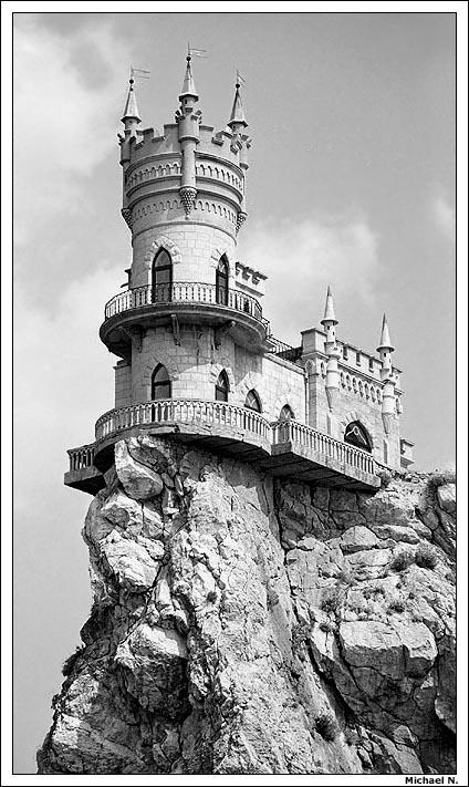 """фото """"""""Ласточкино Гнездо"""", Крым."""" метки: архитектура, путешествия, пейзаж, Европа"""
