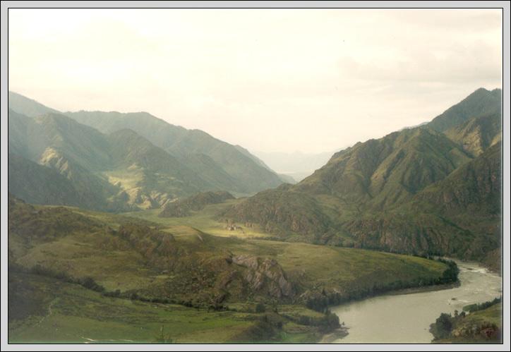 """фото """"Алтайский пейзаж"""" метки: пейзаж, путешествия, Азия, горы"""