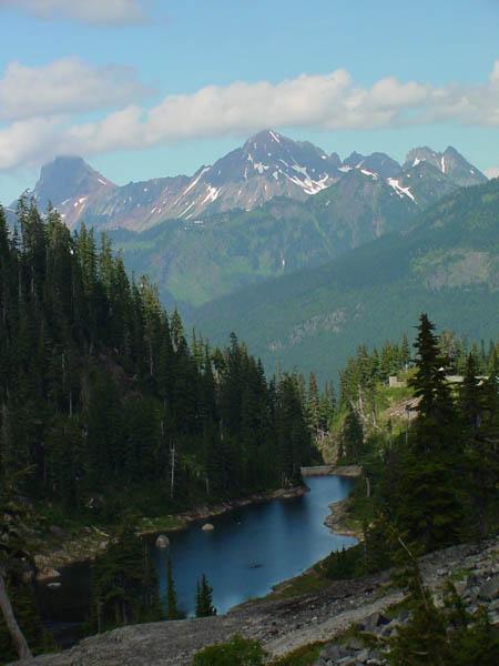 """фото """"Cascade Range"""" метки: путешествия, пейзаж, Северная Америка, горы"""