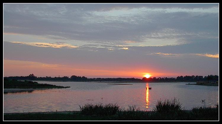 """фото """"Eternally"""" метки: пейзаж, вода, закат"""