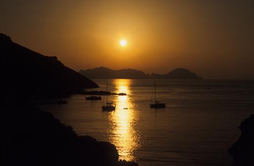 "фото ""Ponza"" метки: пейзаж, закат"