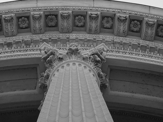 """фото """"Capitol Column"""" метки: архитектура, абстракция, пейзаж,"""