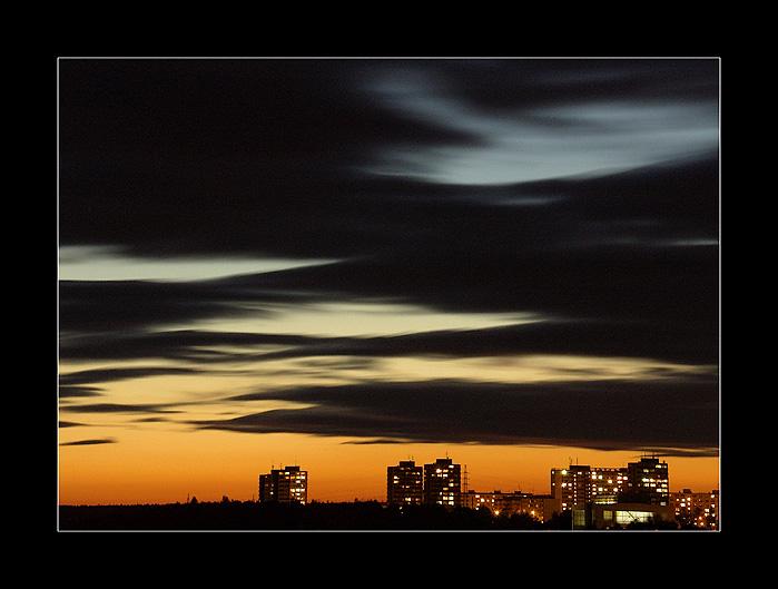 """фото """"Like Alien Sky"""" метки: пейзаж, архитектура, закат"""