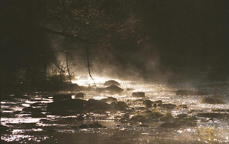 """фото """"Ghost river"""" метки: пейзаж, вода, осень"""