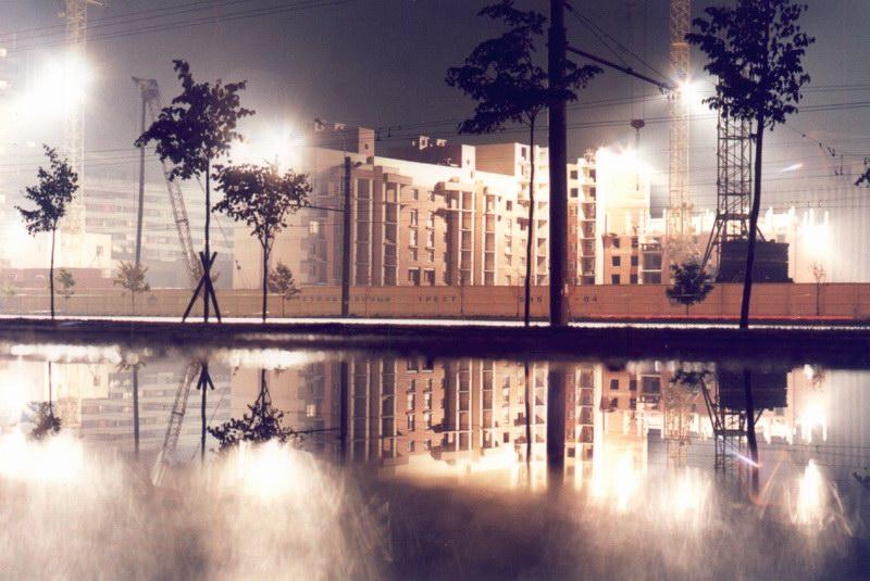 "фото ""neither here not there"" метки: пейзаж, архитектура, ночь"