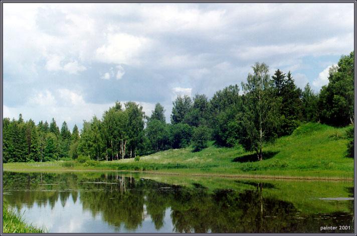 "фото ""Summer Nostalgia"" метки: пейзаж, вода, лес"