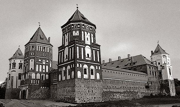 "фото ""Беларусь. Мир. Старый замок."" метки: архитектура, путешествия, пейзаж, Европа"