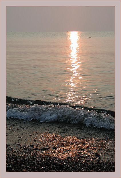 "фото ""Солнечная дорожка"" метки: пейзаж, вода, закат"