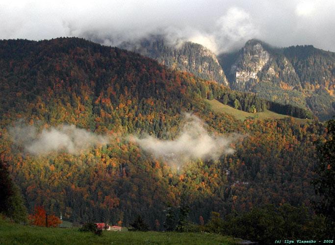 """фото """"Солнечные пятна. Gruyer, Швейцария."""" метки: путешествия, природа, Европа"""