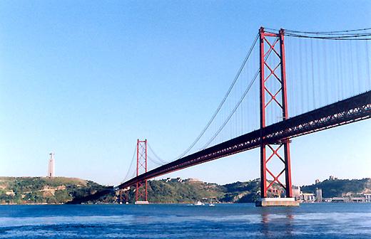 "фото ""Ponte 25 Abril (Lisboa-Almada)"" метки: архитектура, пейзаж,"