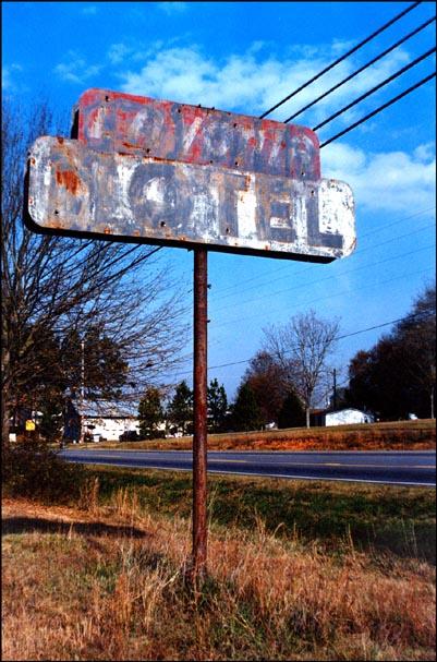 "фото ""OLd Motel Sign"" метки: репортаж, натюрморт,"