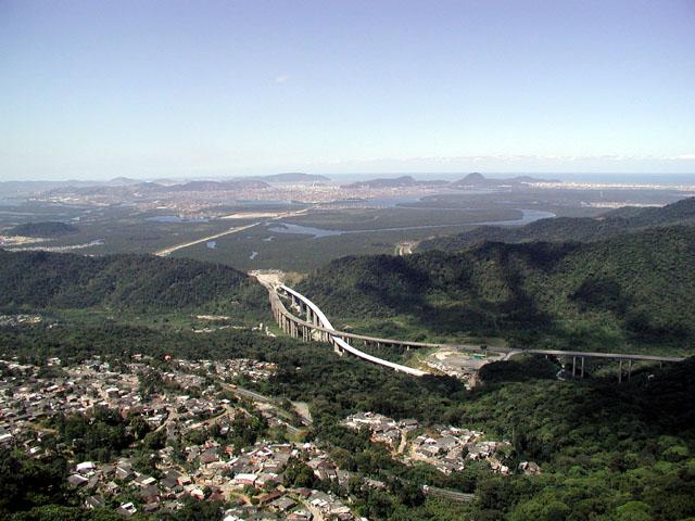"фото ""View of Santos city-Sao Paulo Brasil"" метки: пейзаж,"