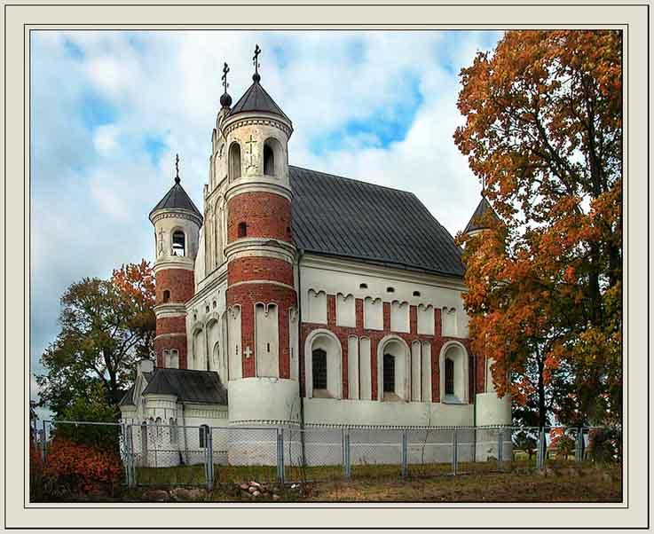 """фото """"И церковь, и крепость."""" метки: архитектура, путешествия, пейзаж, Европа"""