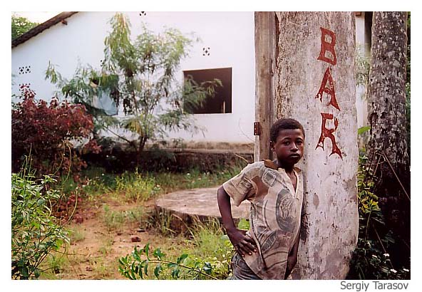 """фото """"""""Bush bar"""""""" метки: портрет, путешествия, Африка"""