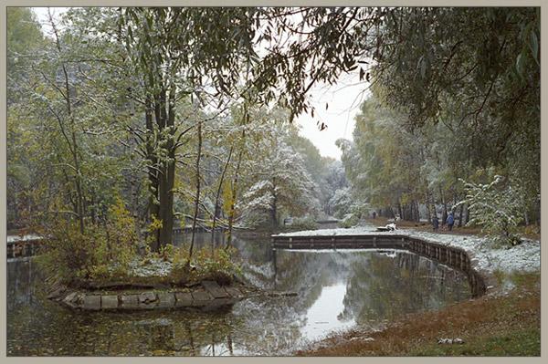 """фото """"Зима наступает"""" метки: пейзаж, осень"""