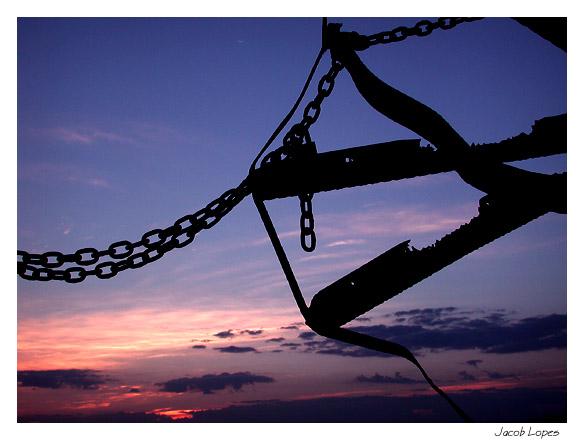 """фото """"abstract at sunrise"""" метки: пейзаж, абстракция, закат"""