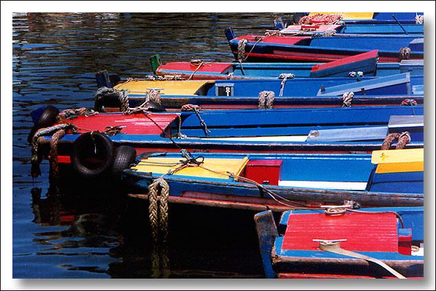 """фото """"Boats in Line"""" метки: разное,"""