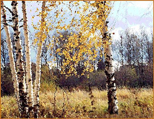 """фото """"Осень 2"""" метки: пейзаж, фотомонтаж, осень"""
