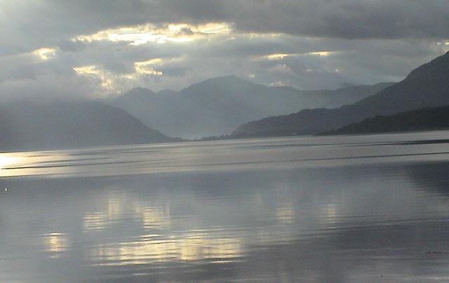 """фото """"Oban bay."""" метки: пейзаж, закат"""