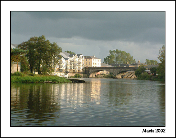 "фото ""Lough Erne Bridge"" метки: пейзаж, вода, осень"