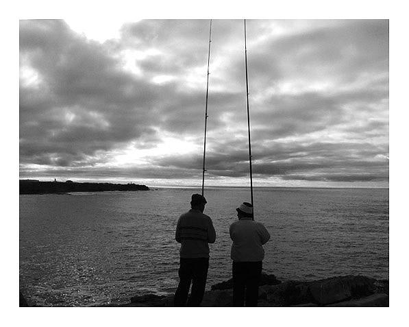 """фото """"The fisherman and his wife"""" метки: пейзаж, вода"""