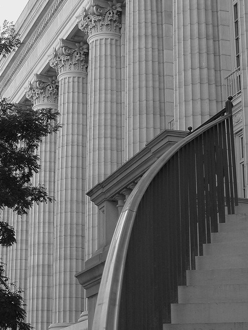 """фото """"Capitol Rail"""" метки: архитектура, черно-белые, пейзаж,"""