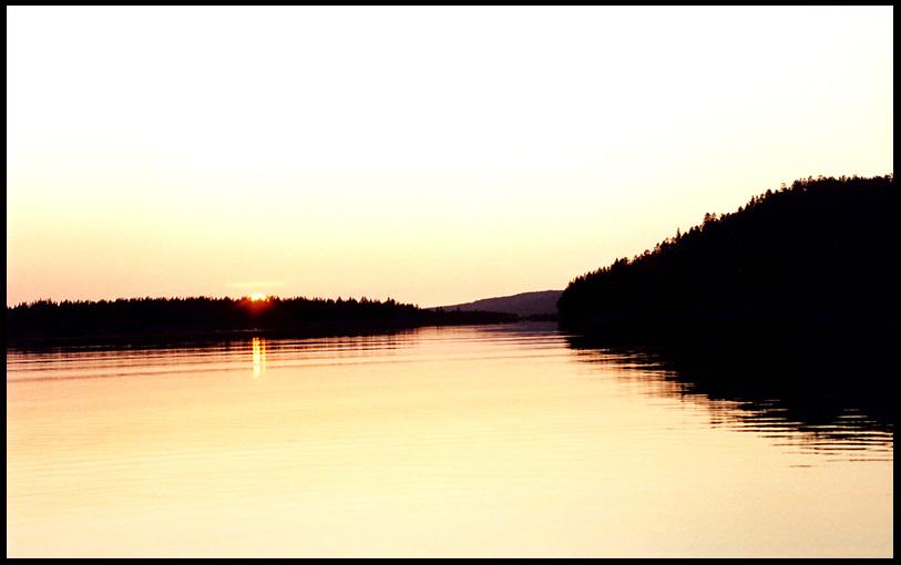 """фото """"Белая ночь"""" метки: пейзаж, вода, закат"""