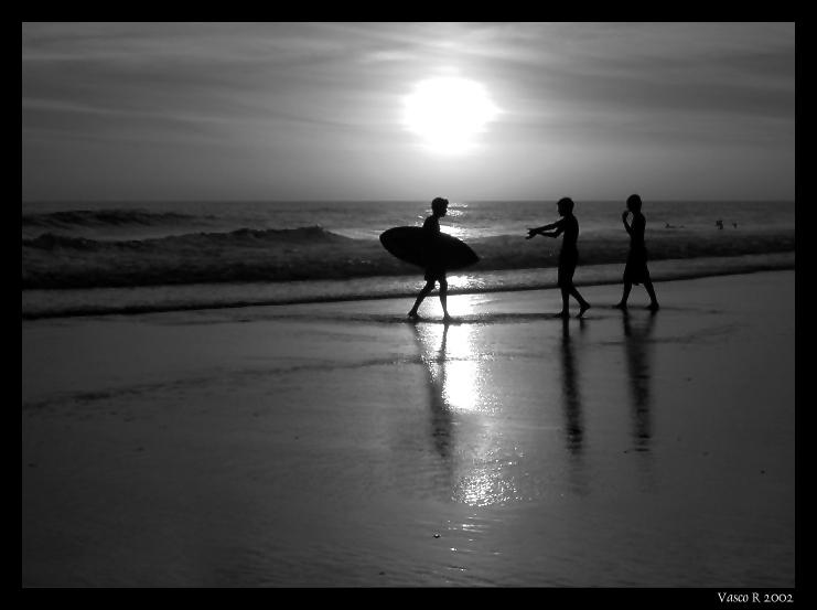 "фото ""Beach fun"" метки: пейзаж, вода, закат"