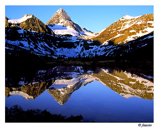 """фото """"Early morning reflection"""" метки: путешествия, Северная Америка"""