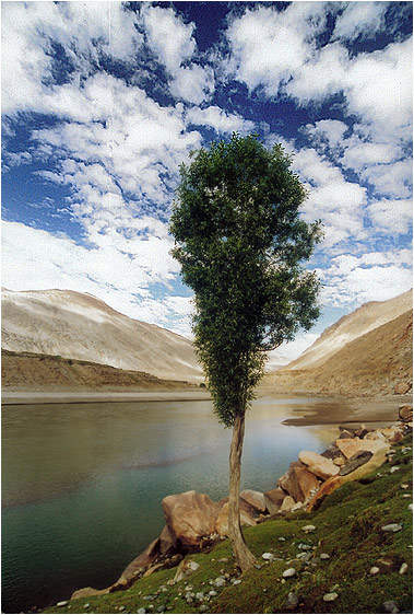 """фото """"Под небом голубым #14"""" метки: пейзаж, горы, облака"""