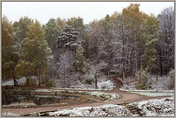 """фото """"Зима наступает 4"""" метки: пейзаж, осень"""