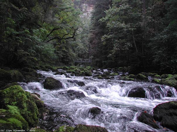 """фото """"Страна горных рек-1. Vallorbe, Швейцария."""" метки: путешествия, природа, Европа"""