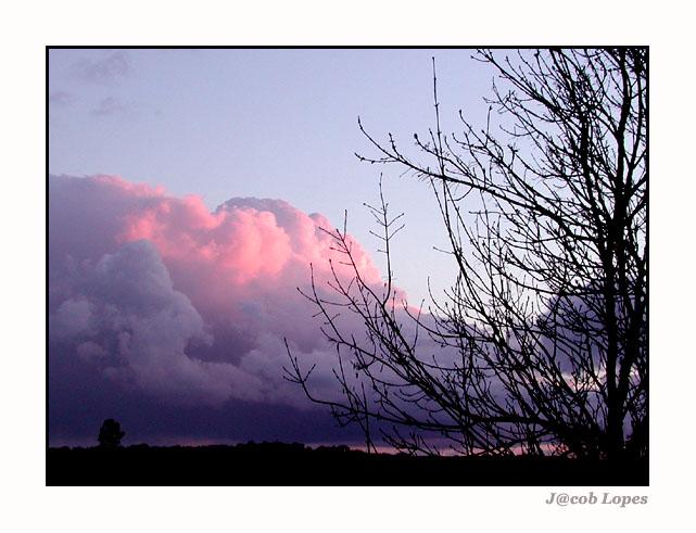 """фото """"red cloud"""" метки: пейзаж, закат, облака"""