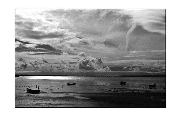 """фото """"Low Tide"""" метки: пейзаж, осень"""