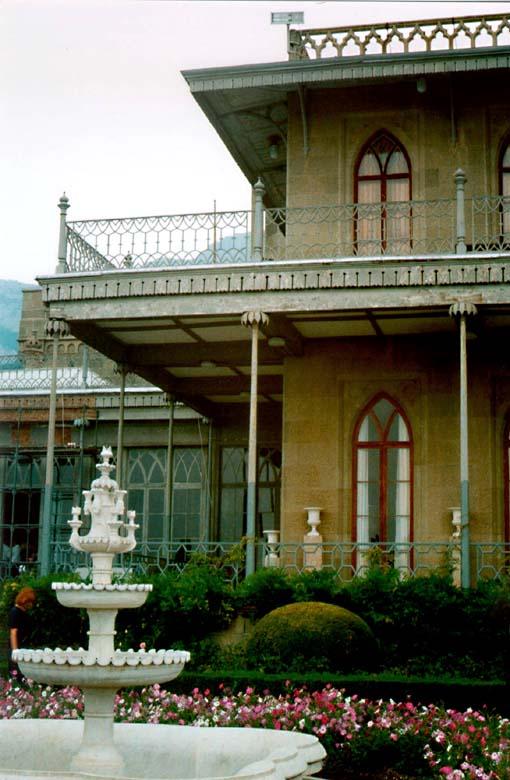 "фото ""Воронцовский Дворец"" метки: архитектура, путешествия, пейзаж, Европа"